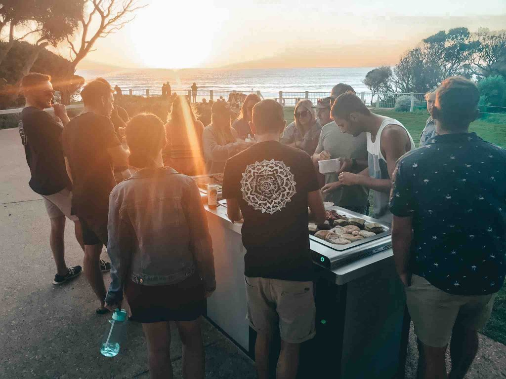 BBQ at Yallingup Beach
