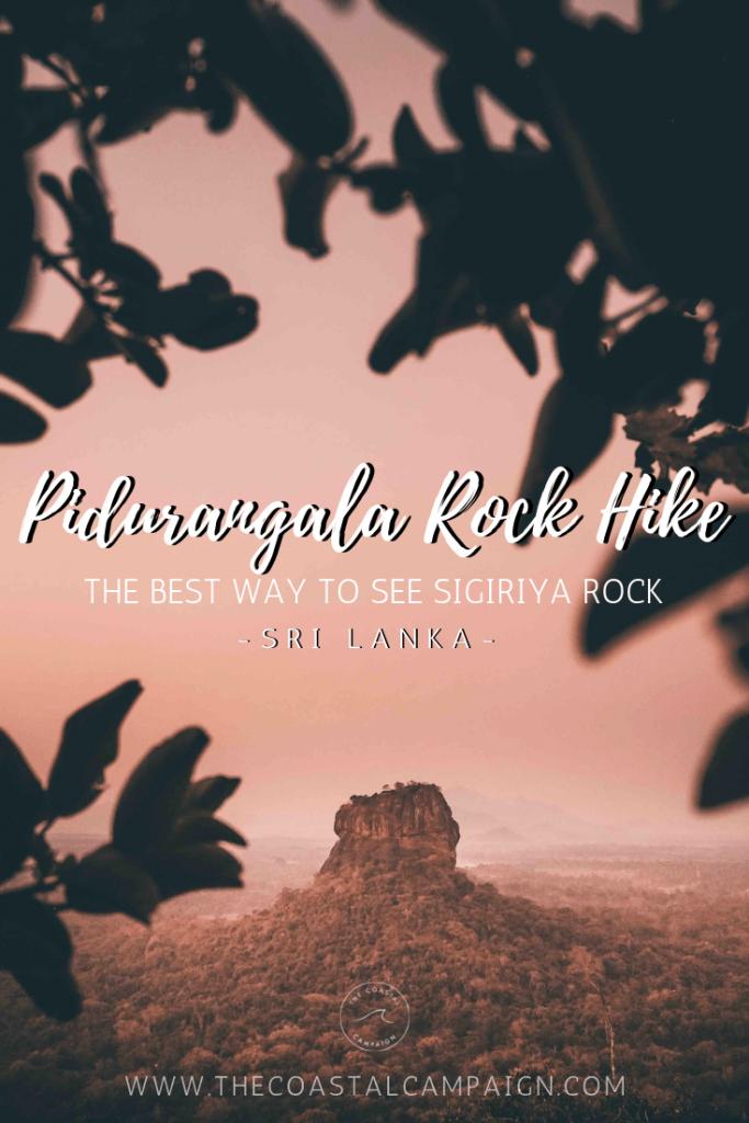 Pin for Pidurungala Rock Hike