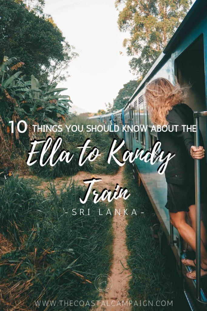 10 Things You Should Know About the Ella to Kandy Train