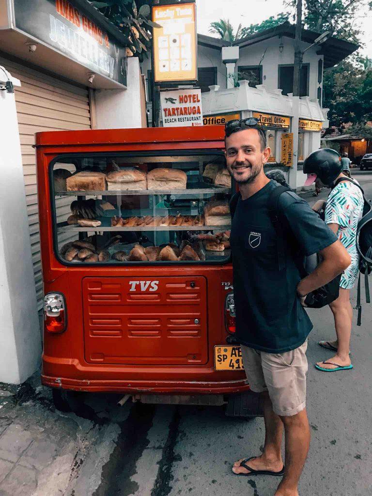 The local bread van