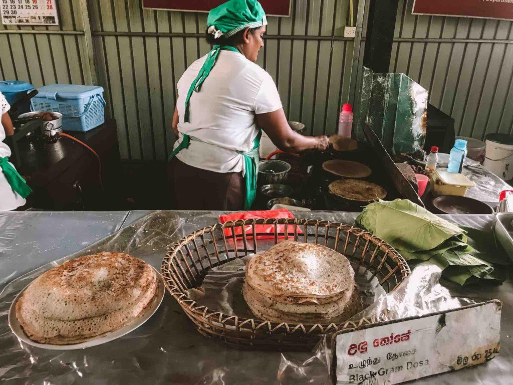 Hela Bojun food stall