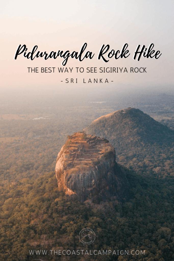 Pidurangala Rock Pin
